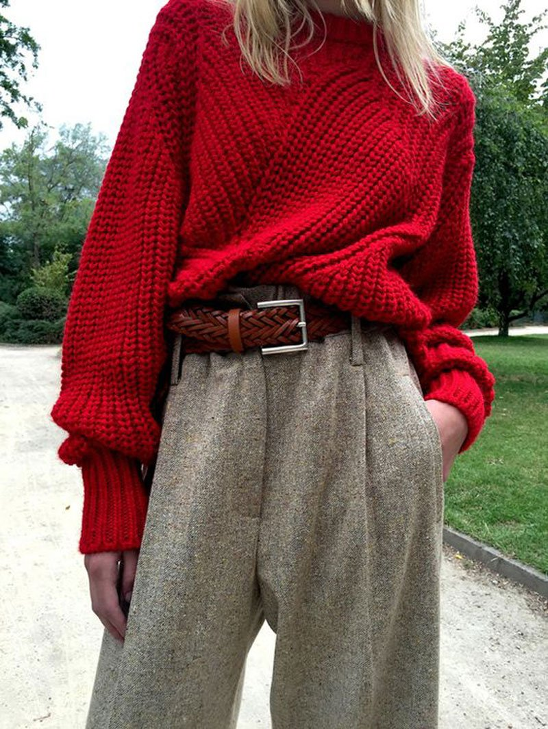 Maglione di Natale rosso