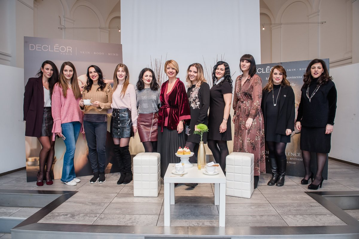 Le bloggers al Tea Party di Amiche di Smalto