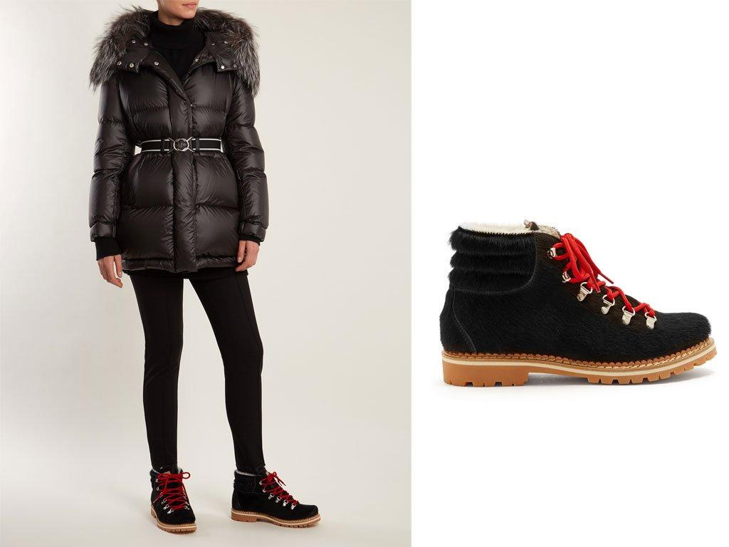 Abbigliamento montagna 2018: i doposci fashion
