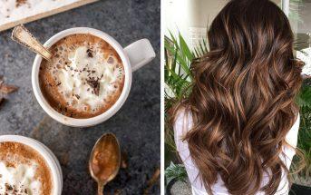 Colore capelli 2018: il Cinnamon Hot Chocolate