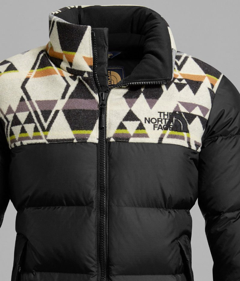 Giacca Montagna Pendleton e The North Face