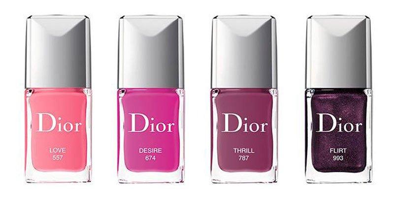 Smalti Dior primavera estate 2018