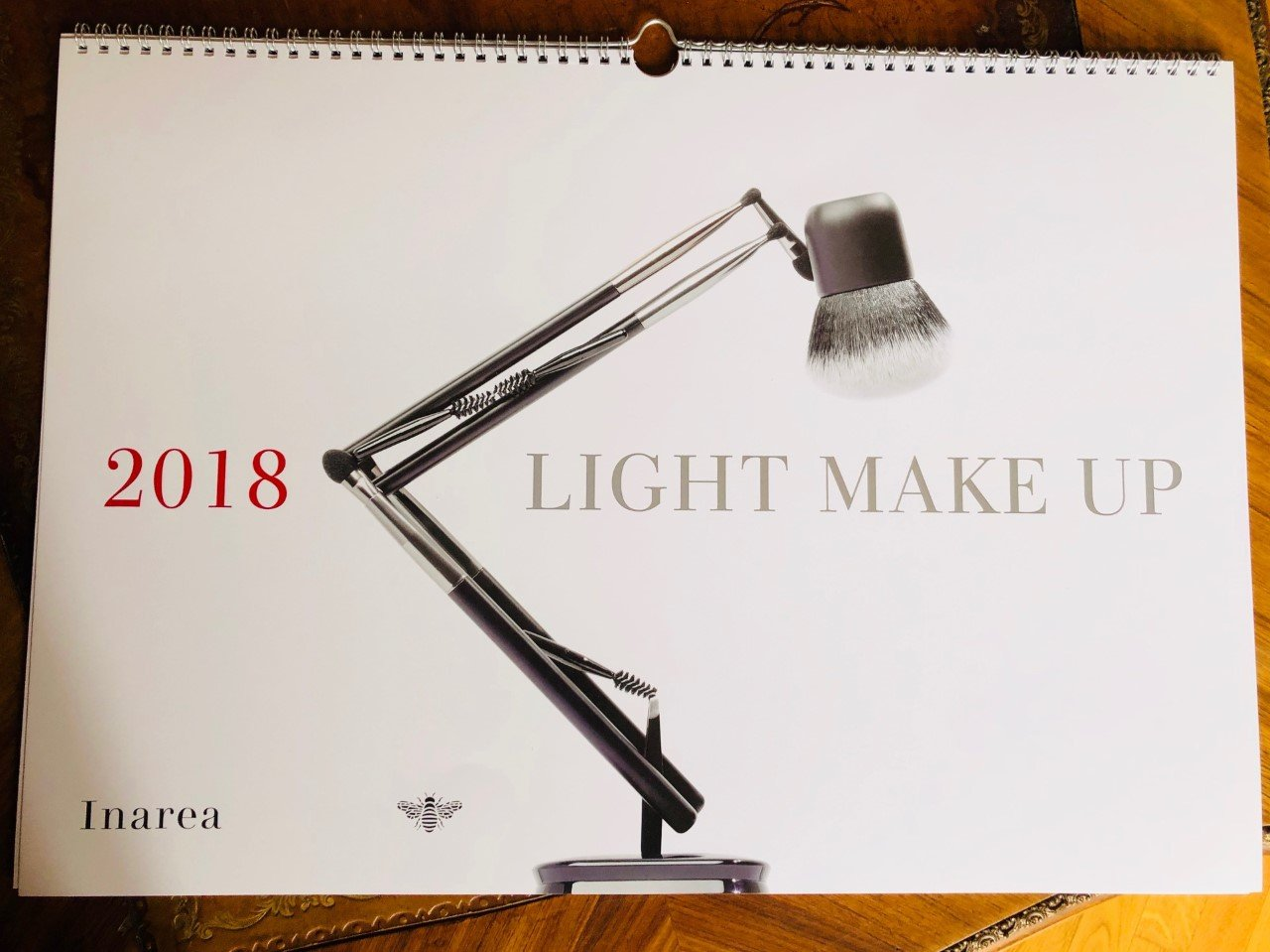 Il calendario Inarea 2018