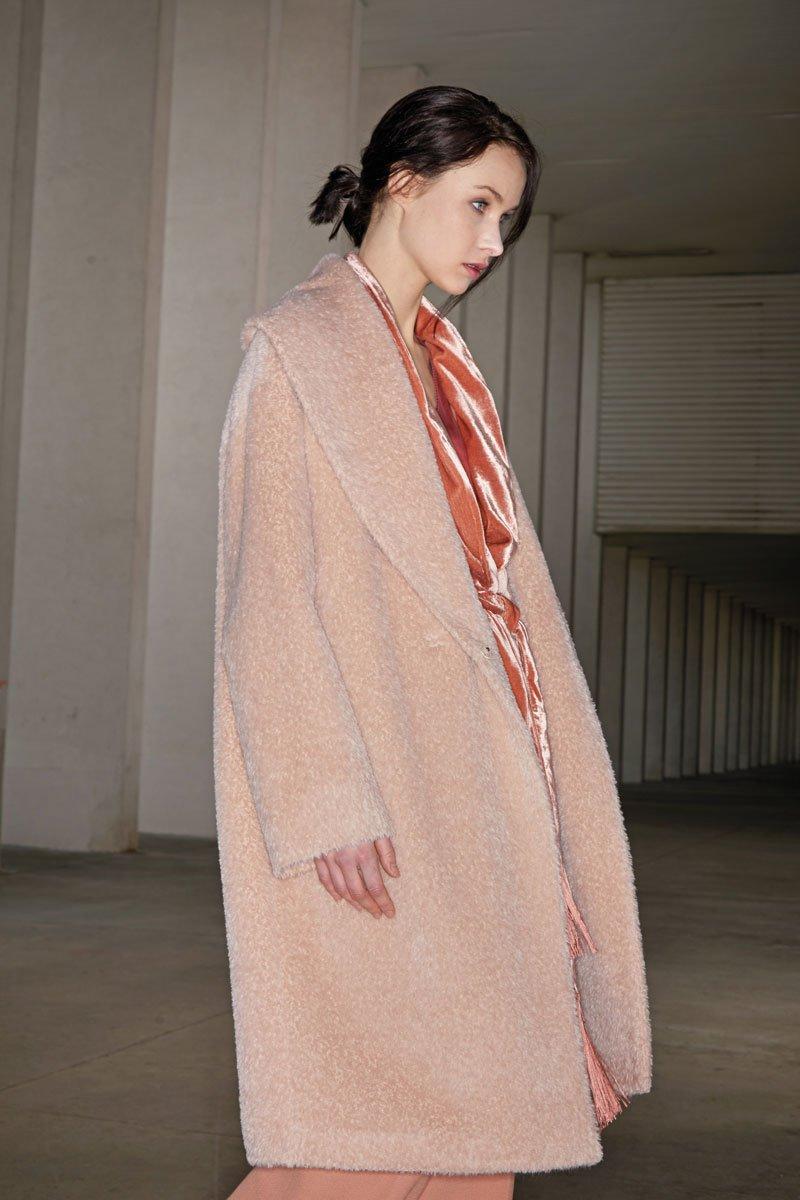 Il cappotto in alpaca
