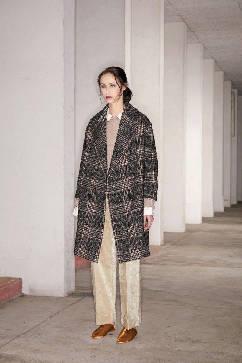 Il cappotto con ceck di Antonelli firenze