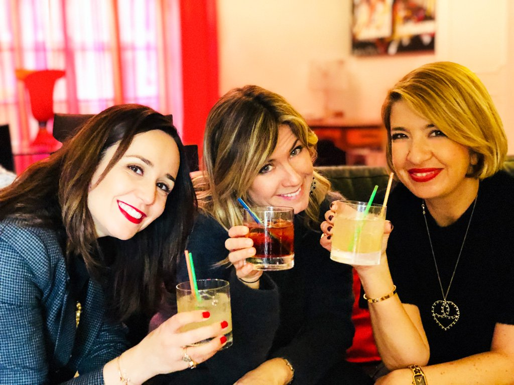 Un aperitivo con Glass & Cheers
