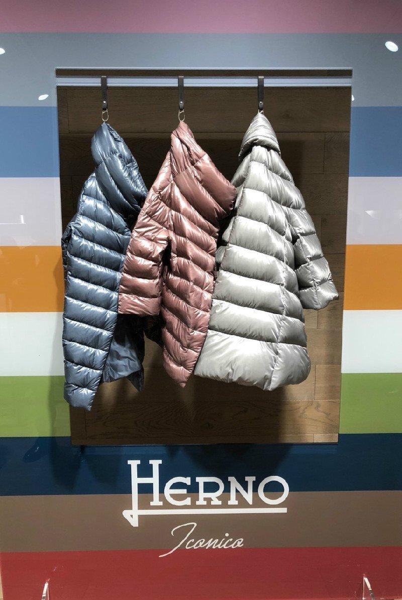 I classici piumini Herno