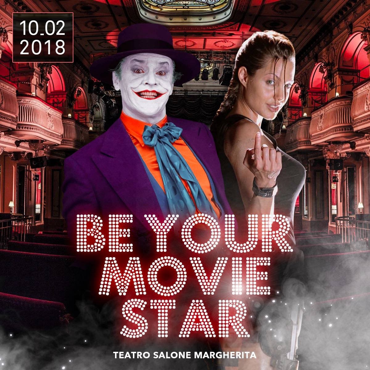 La Festa di Carnevale Be Your Movie Star