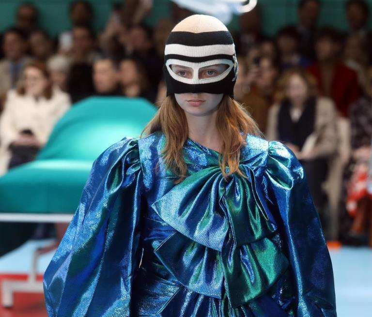 Dalla sfilata Gucci A/I 2018-2019
