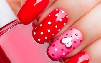 Idee per la manicure di san valentino
