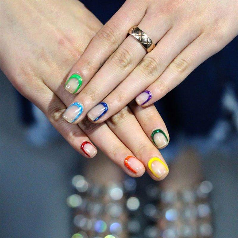 Forma delle unghie squadrate