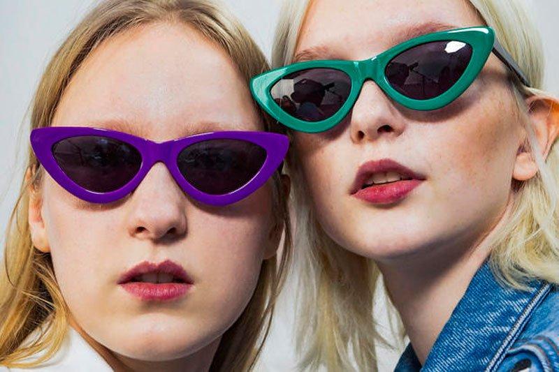 I modelli di occhiali da sole primavera estate 2018