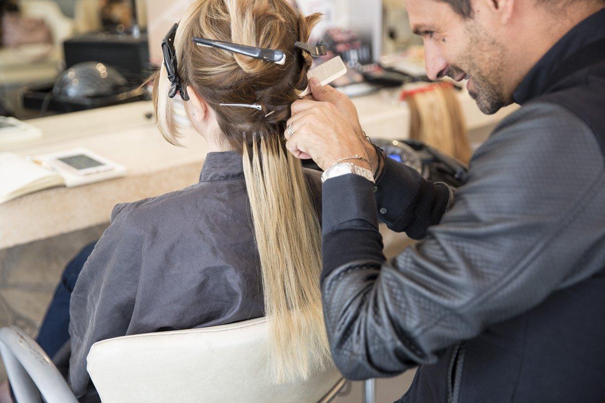 Extensions capelli: l'applicazione