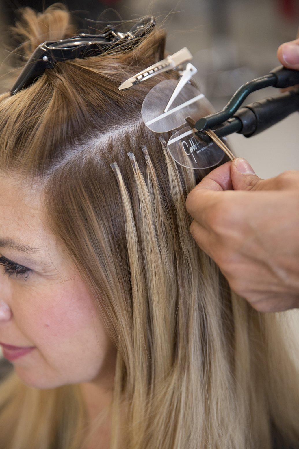 I sistemi per applicare le extensions capelli