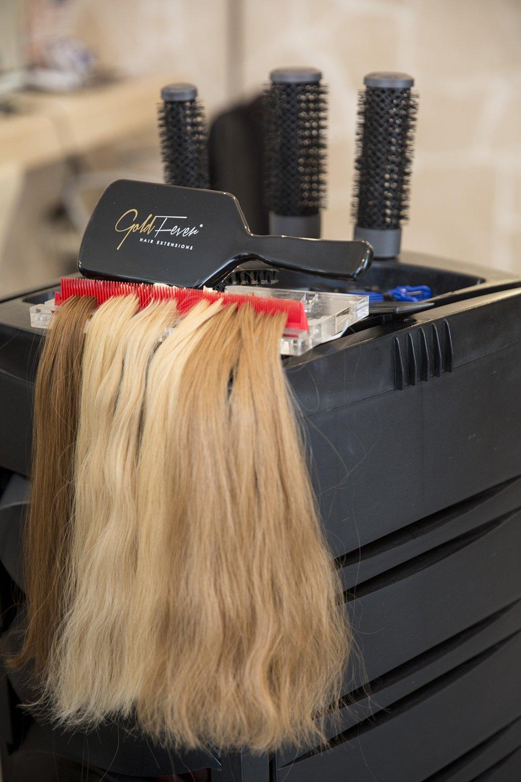 Gold Fever produce le migliori extensions capelli