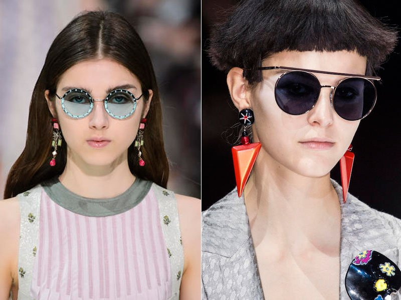 Tendenze occhiali da sole 2018