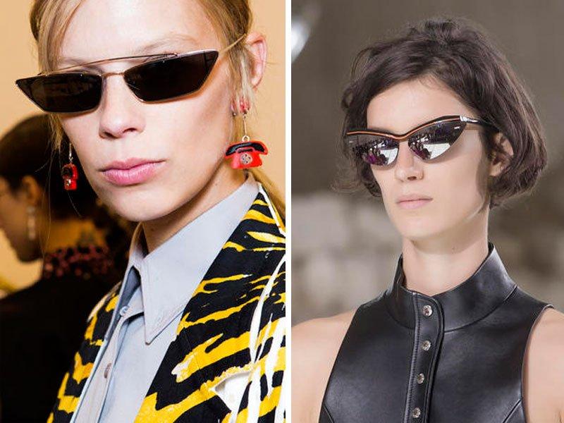 Tendenze occhiali da sole primavera estate 2018