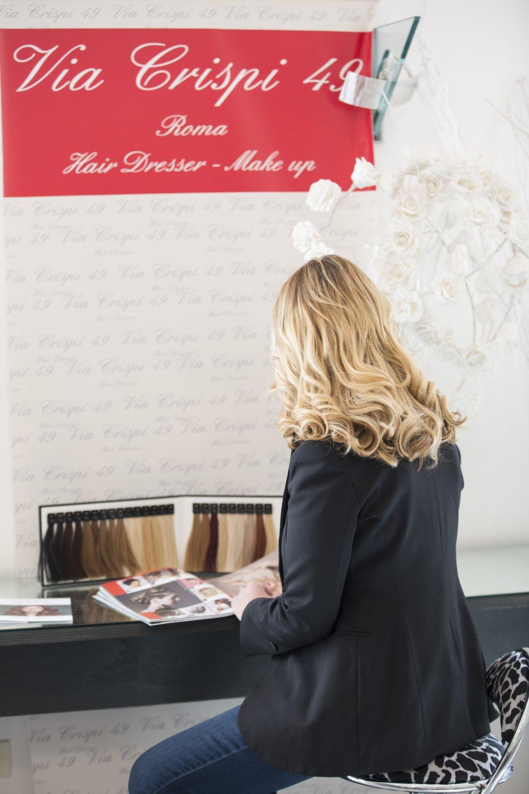 Dove fare le extensions capelli a Roma