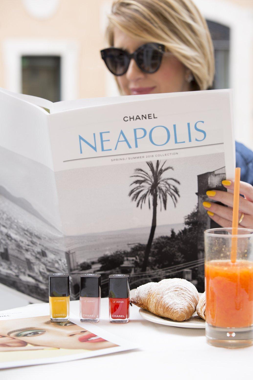 I colori degli smalti Chanel primavera estate 2018