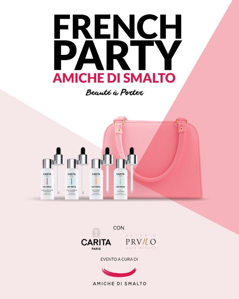 Il french party di Amiche di Smalto