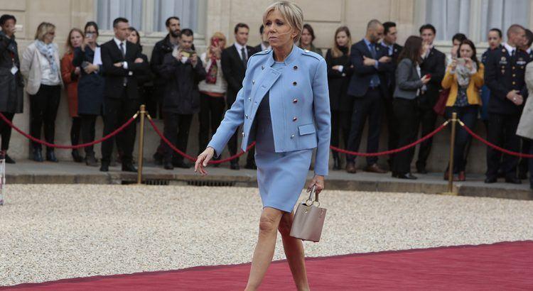 Brigitte Macron look