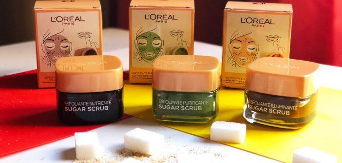 Sugar Scrub di L'Oréal: gli Esfolianti Delicati per Viso e Labbra