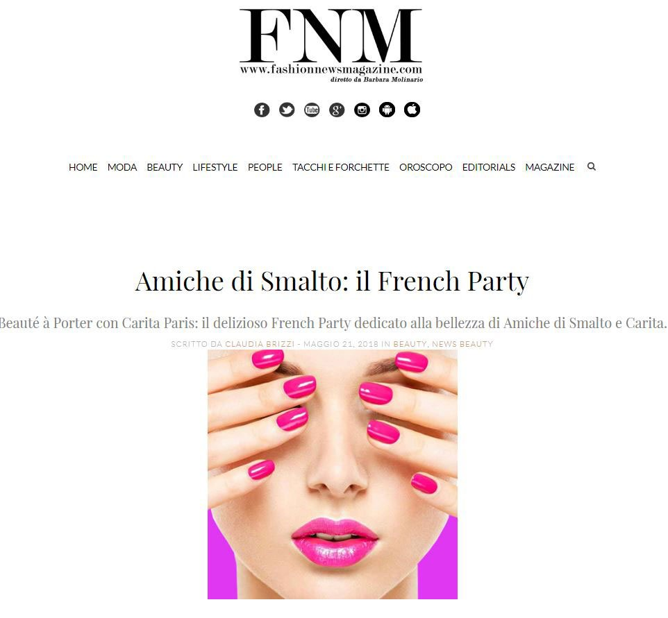 Rassegna stampa French Party