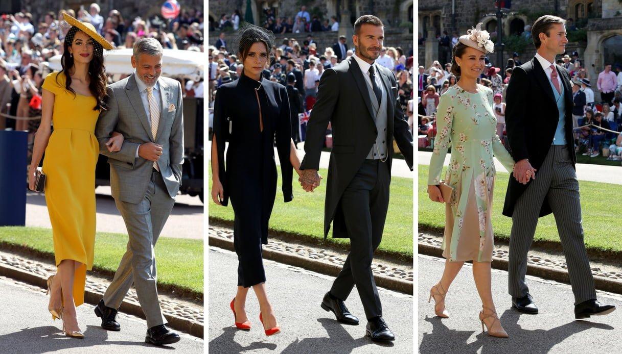 Le invitate del matrimonio reale