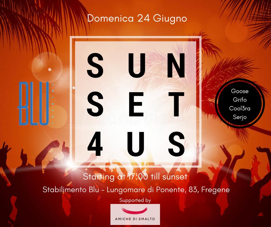 Sunset 4US Beach Party Fregene