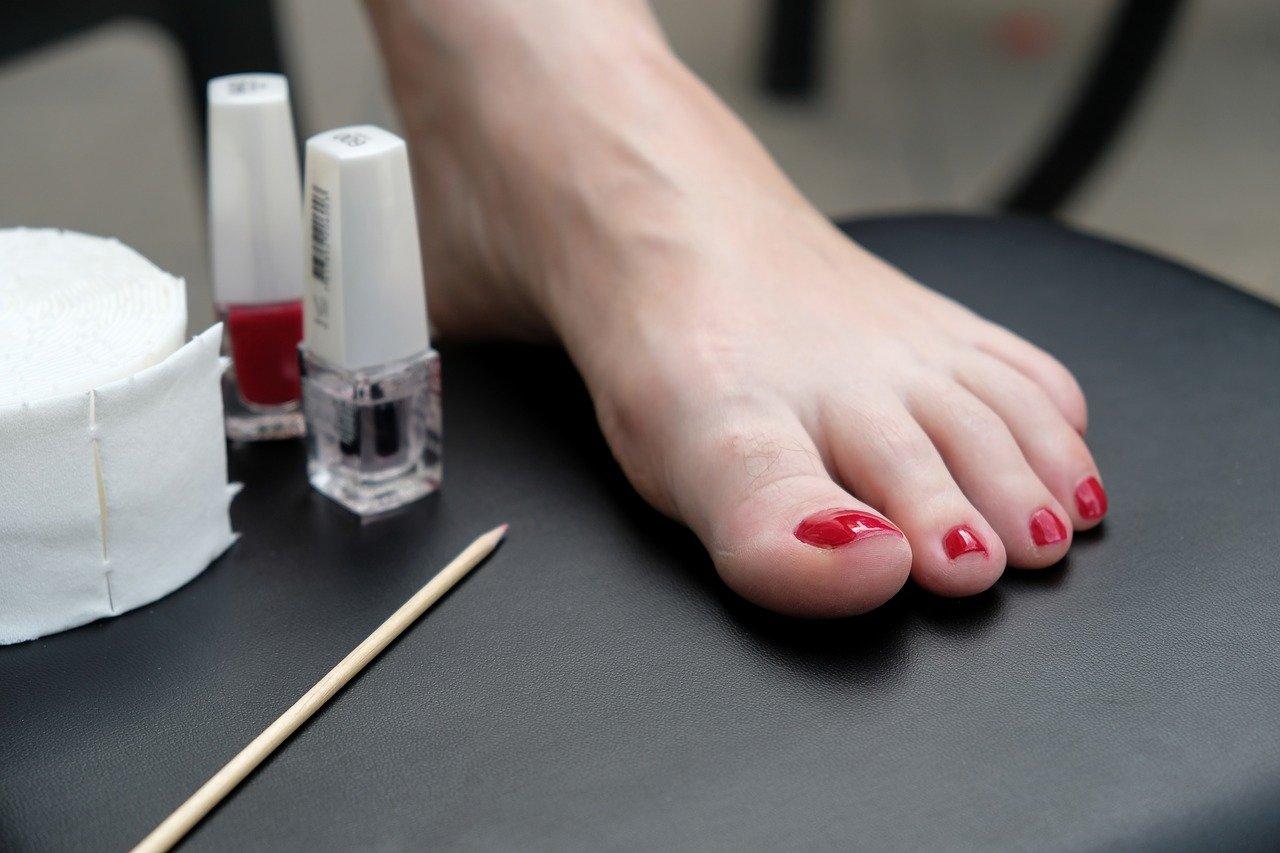 Manicure e pedicure dry