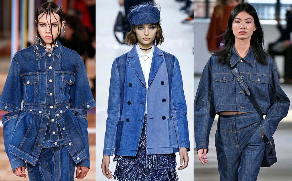Tendenze moda in total denim