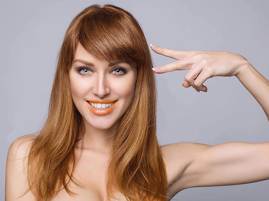 foto come curare i capelli