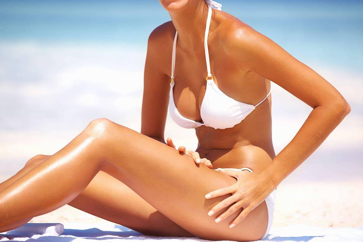 immagine per la crema solare viso corpo