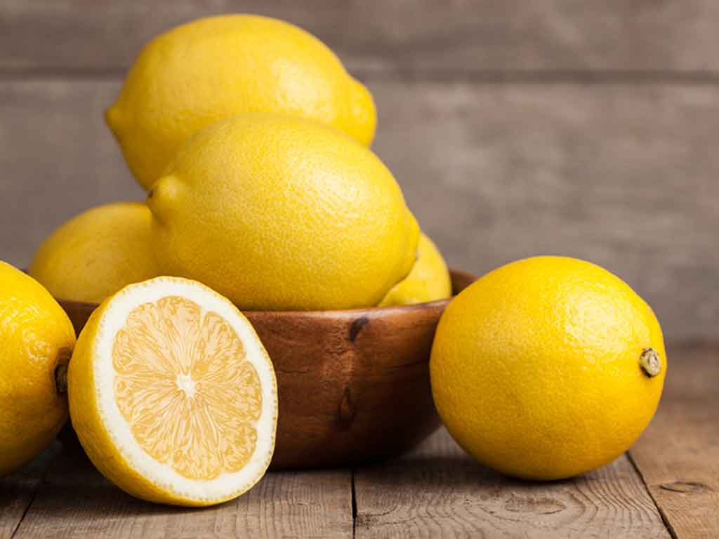 foto del limone per curare i piedi