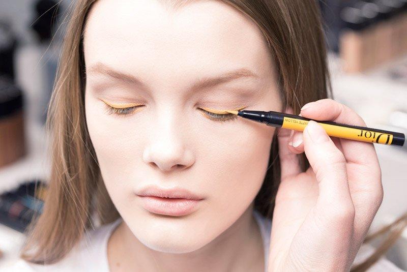 foto del make up Dior