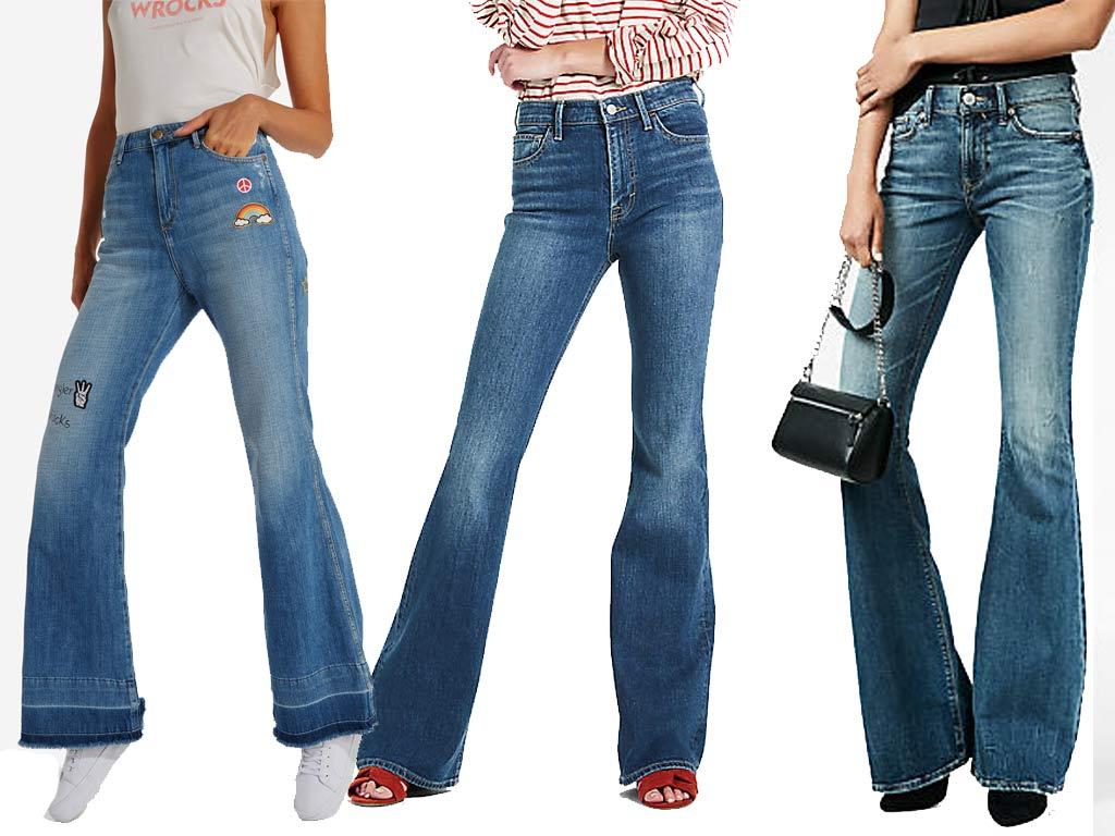 foto Moda Jeans 2019: flare jeans