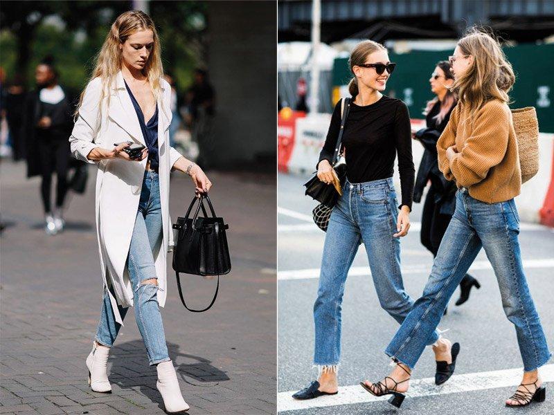 Foto di ragazze con jeans