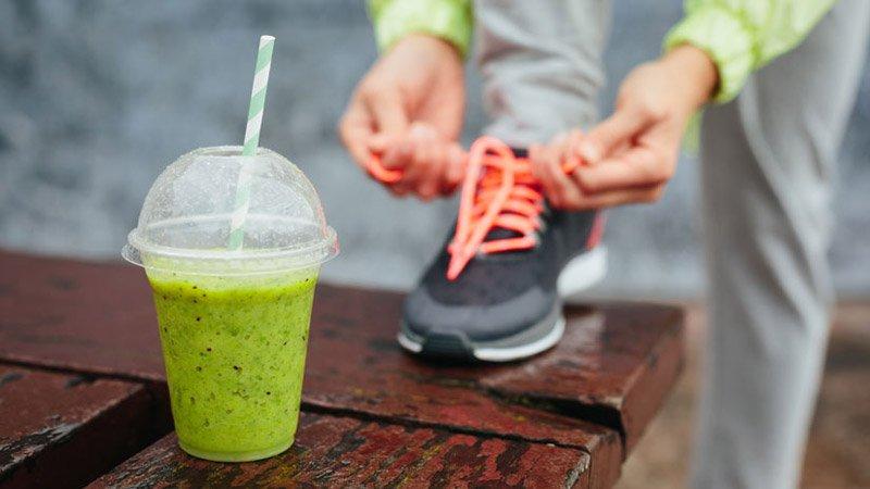 Foto di sport e dieta