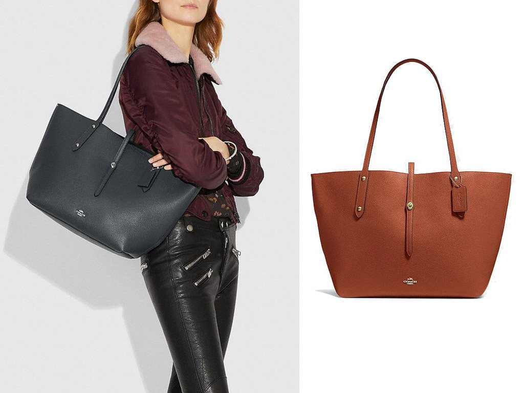 foto della shopping bag di coach