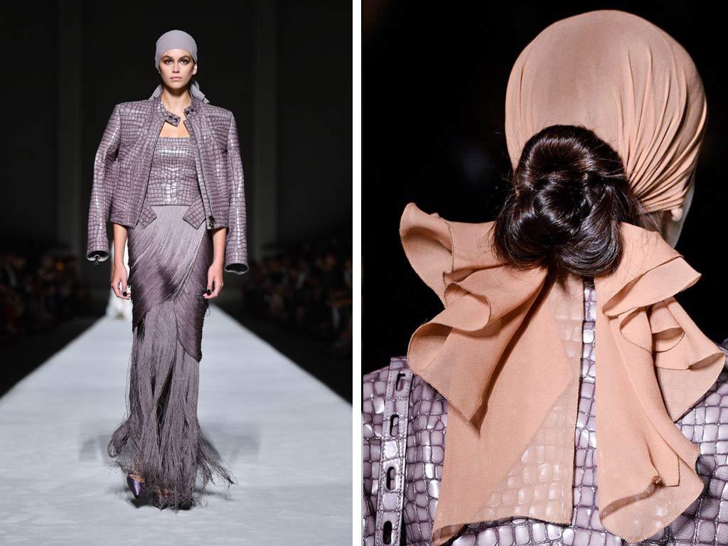 foto Capelli 2019: il foulard
