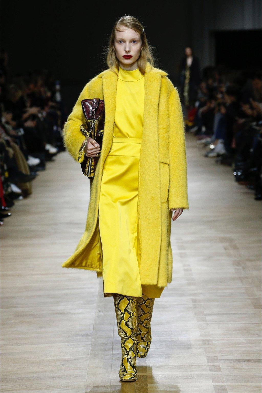 cappotto giallo Rochas