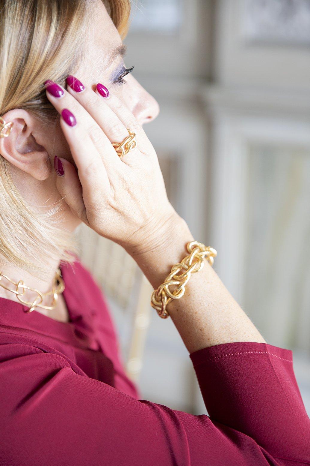 Foto del bracciale Knot di Giulia Barela