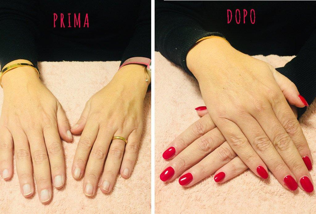 immagini della ricostruzione unghie