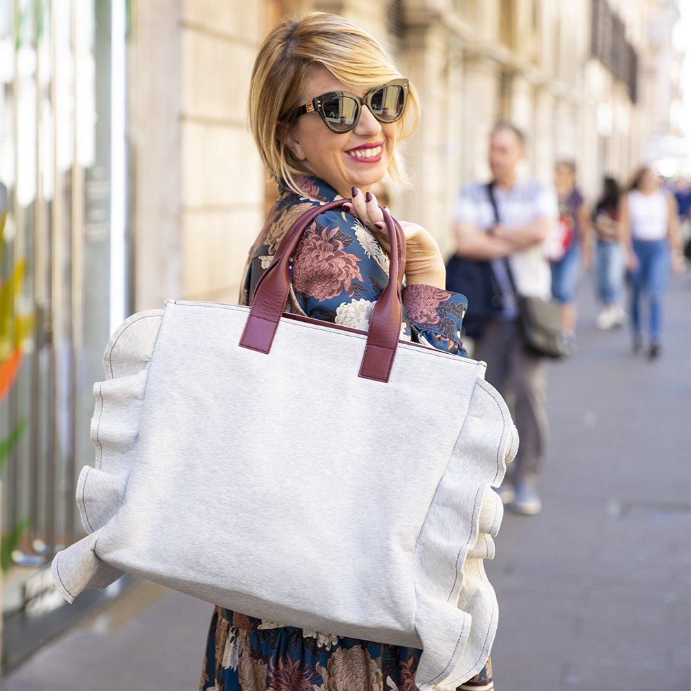 Borsa shopping Maxi XL di Amahra Roma