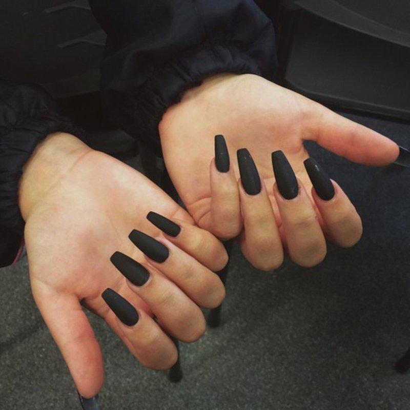 La forma delle unghie di Halloween