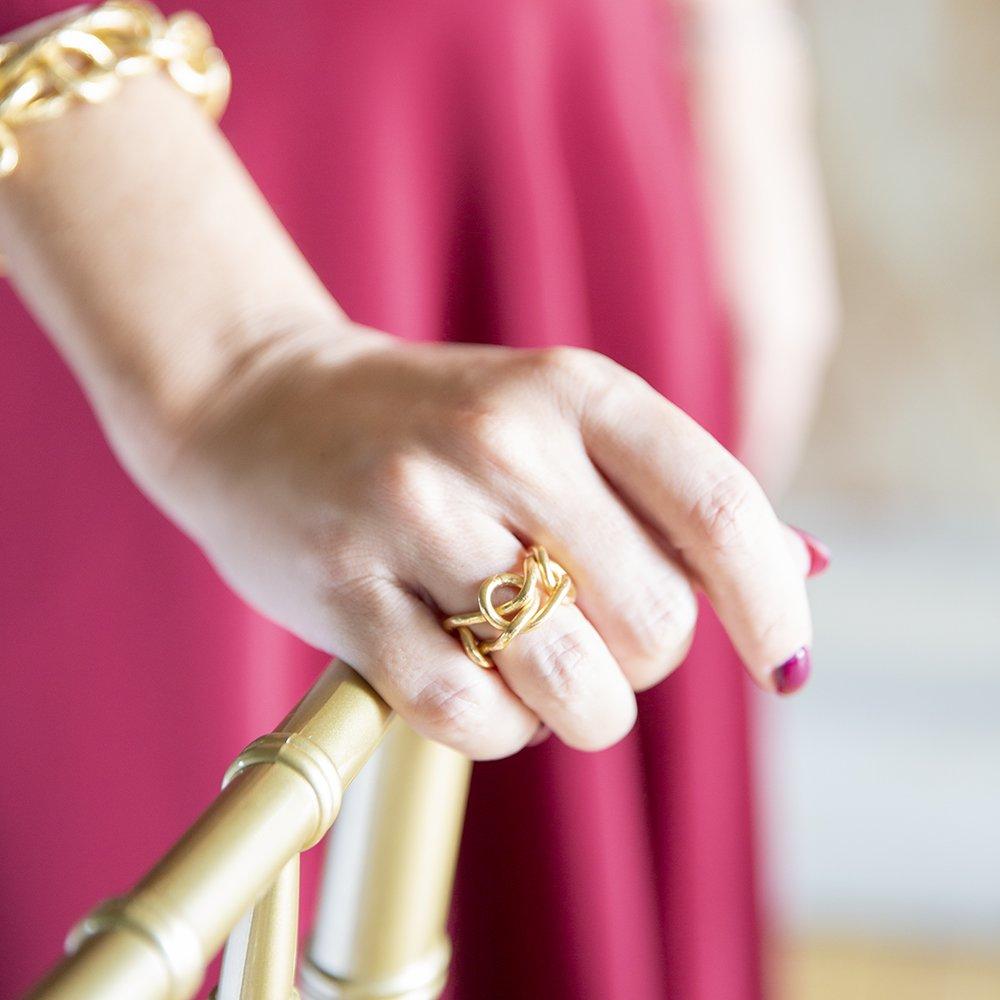 foto degli anelli di Giulia Barela