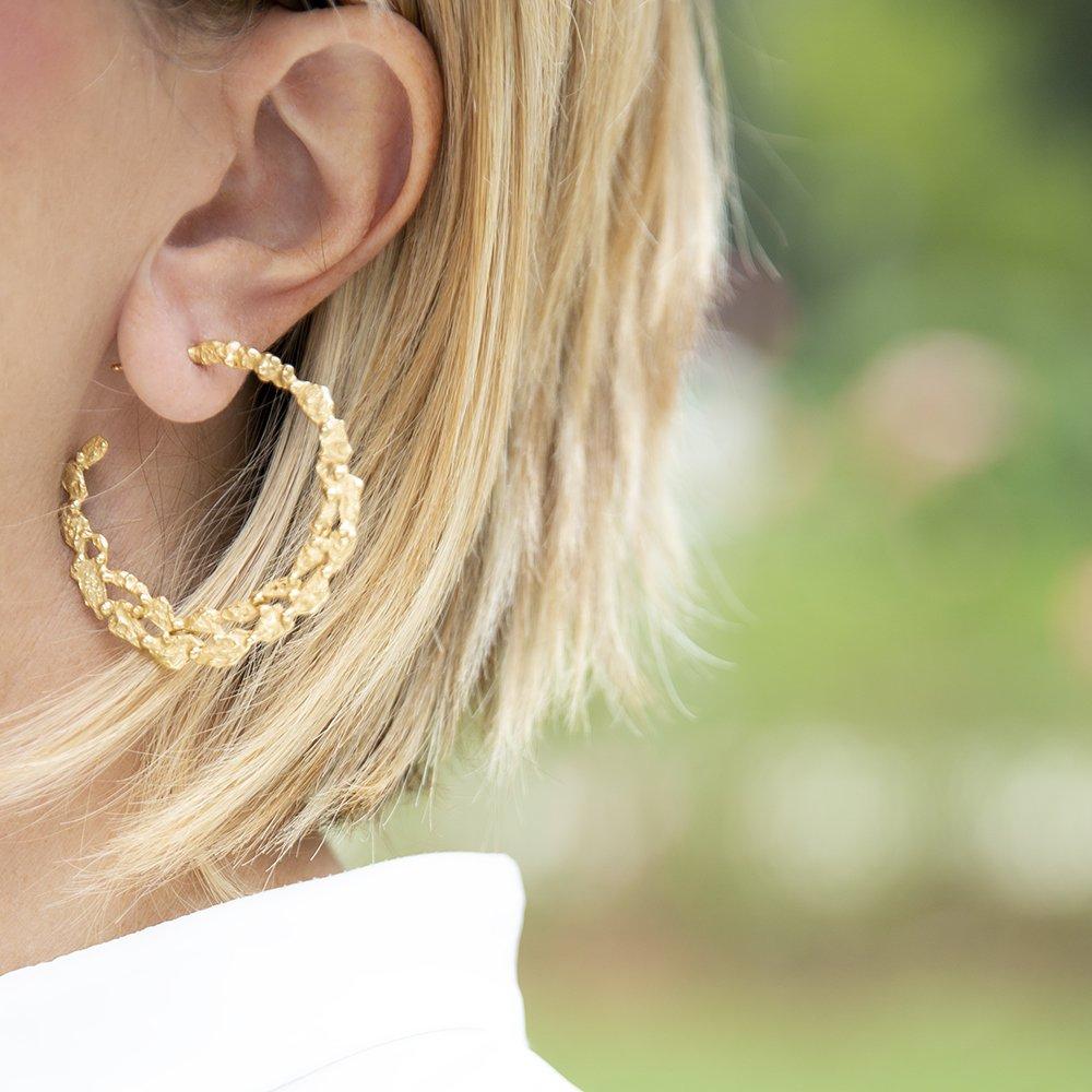 Foto degli orecchini di Giulia Barela