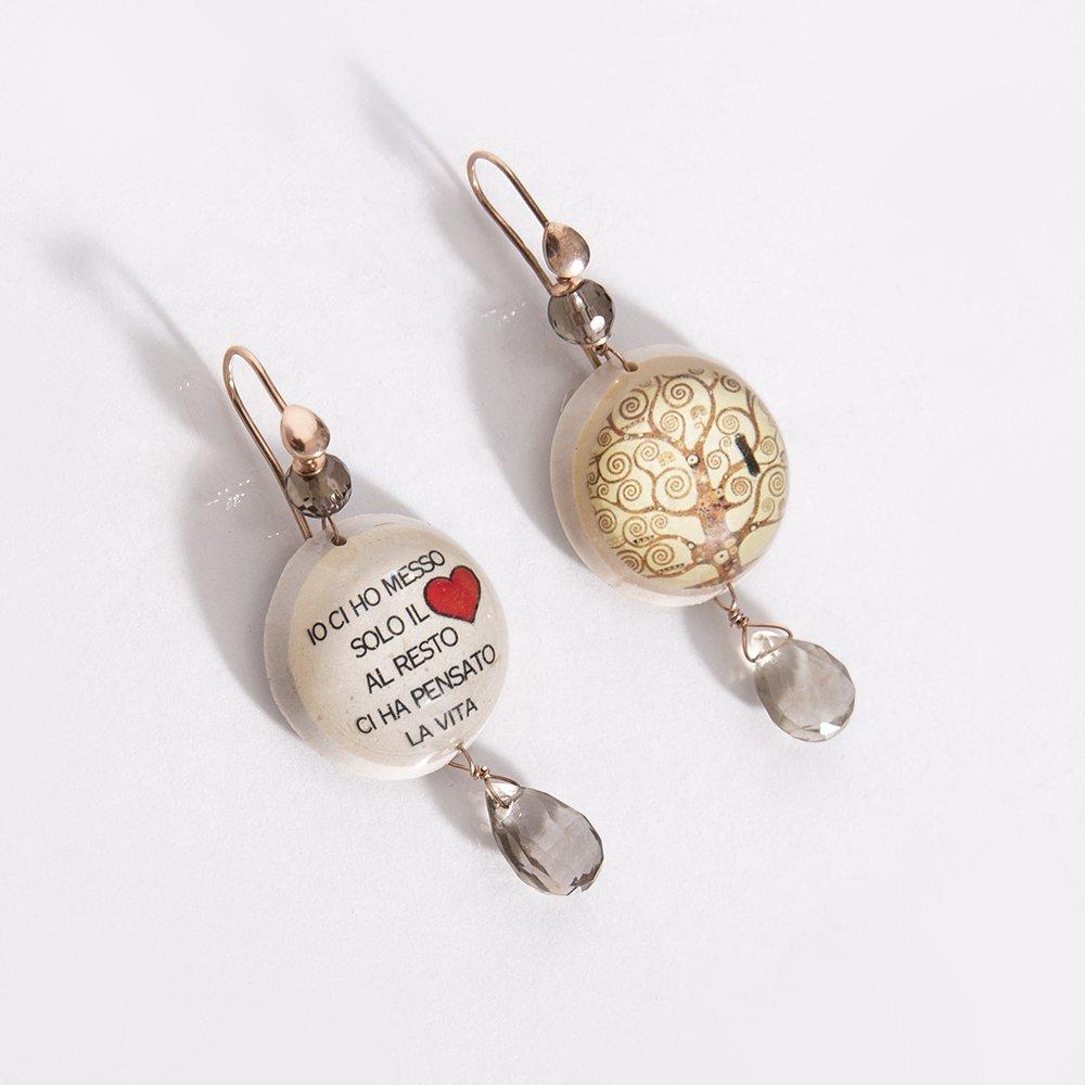 Foto degli orecchini di Natale di 20 celesti bijoux