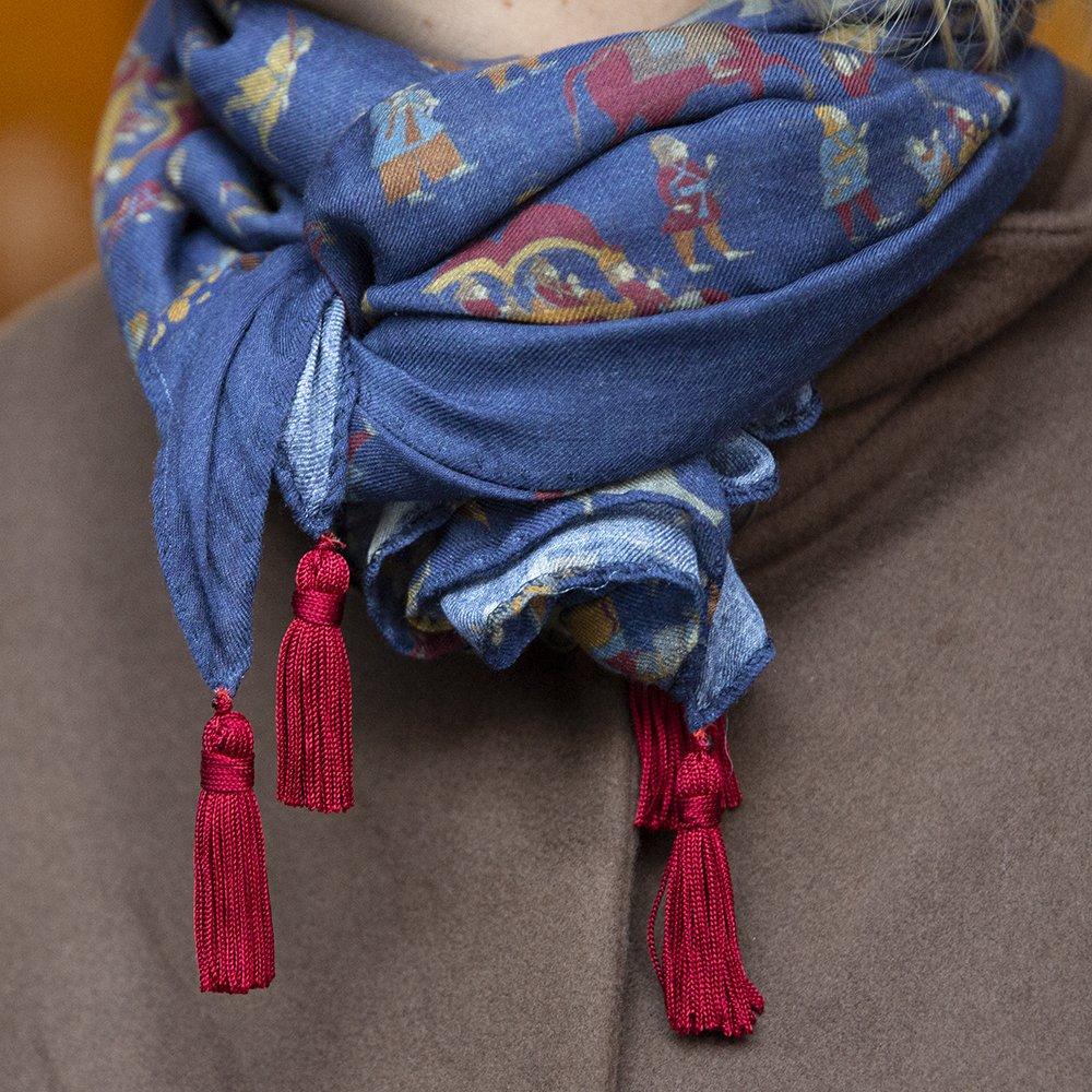 Foto della Maxi sciarpa di Luluredgrove