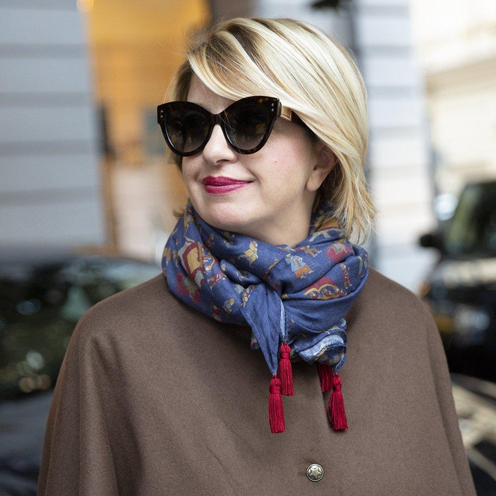 Regali di natale online: la sciarpa di Lulu Redgrove